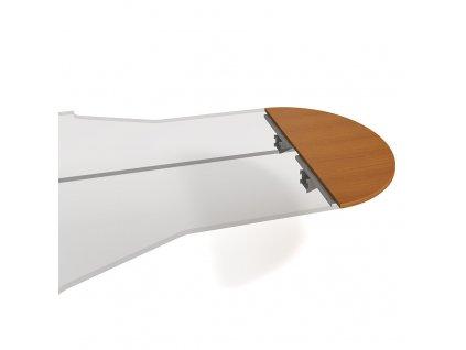 Stůl zakončovací oblouk 160 cm - Hobis Cross CP 160