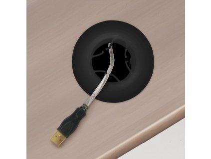 Držák pro kabelový svod do průchodky D KOS 502