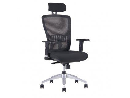 Kancelářská židle HALIA MESH s podhlavníkem