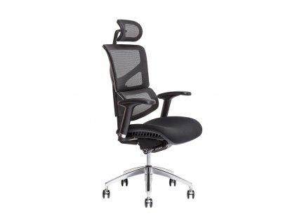 Kancelářská židle MEROPE s podhlavníkem