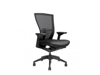 Kancelářská židle MERENS bez podhlavníku