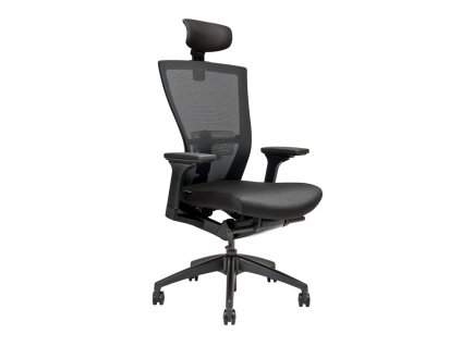 Kancelářská židle MERENS s podhlavníkem