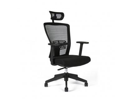 Kancelářská židle THEMIS s podhlavníkem