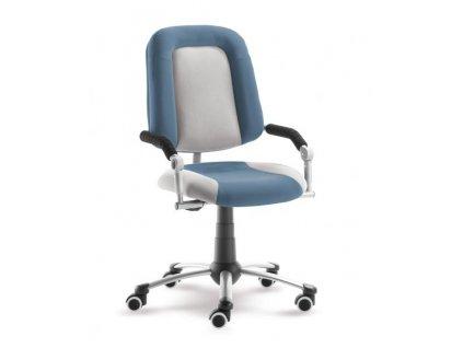 židle Freaky Sport bílá modrá