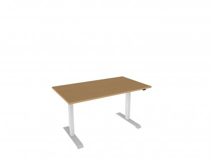Elektr. nastavitelný stůl 140x80 se zákl. ovladačem Dynamic 140