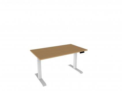 Elektr. nastavitelný stůl 140x80 s pamětí Dynamic XL140
