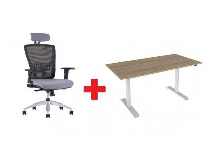 Židle + výškový stůl