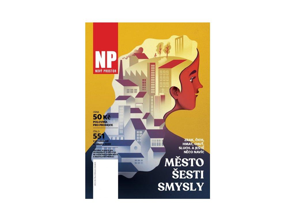 NP 551 - Město všemi smysly v PDF