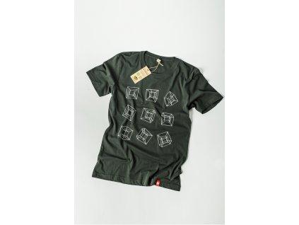 Pánské tričko s potiskem a logem NP