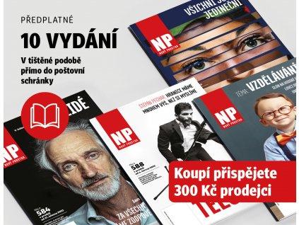 Předplatné časopisu na 10 vydání