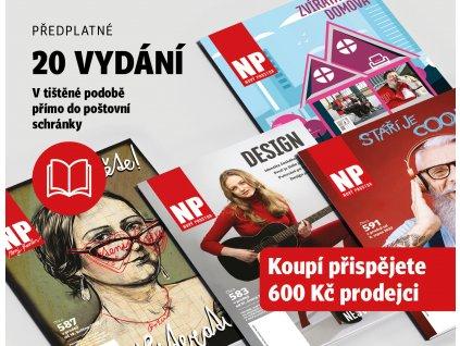 Předplatné časopisu na 20 vydání