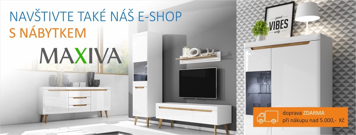 E-shop Nábytek MAXIVA