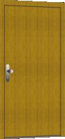 Dřevěné vchodové dveře - nové, skladové, použité a bazarové