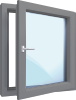 Hliníková okna - skladová nová, použitá a bazarová