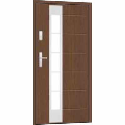 Ocelové vchodové dveře - nové, skladové, použité a bazarové
