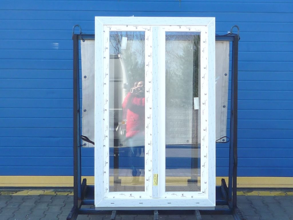 Plastové okno sklopné (ventilační) 1200x900