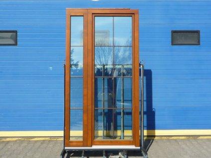 Plastové balkonové dveře - KBE 70 AD, 1010x2585 mm, OS pravé, bílá