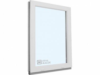 Plastové okno - KNIPPING 70 AD, 900x1200 mm, FIX (pevné), bílá/bílá  + příslušenství zdarma + montážní materiál zdarma