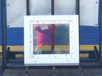 Plastové okno - KBE 70 AD, 1180x1550 mm, otevíravé/sklopné (OS levé), eiche dunkel/bílá  + příslušenství zdarma + montážní materiál zdarma