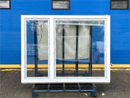 Plastové okno - KNIPPING 76 AD, 1050x1340 mm, OS pravé, schokobraun/bílá  + příslušenství zdarma + montážní materiál zdarma