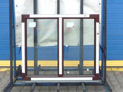 Plastové okno - KNIPPING 70 AD, 890x1460 mm,  FIX (pevné), winchester/winchester  + příslušenství zdarma + montážní materiál zdarma