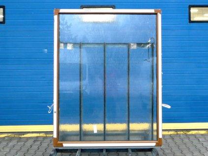 Plastové okno - KBE 70 AD, 570x1290 mm, OS levé, bílá  + příslušenství zdarma + montážní materiál zdarma