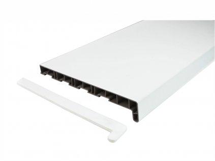 Vnitřní parapet - bílý, délka 870 mm, různé hloubky (Hloubka 150 mm)