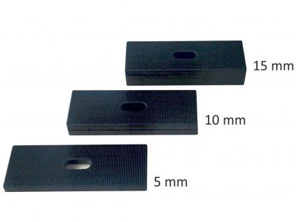 montážní podložkyplastové