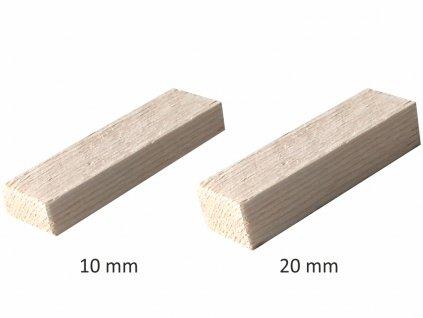 dřevěné podložky komplet