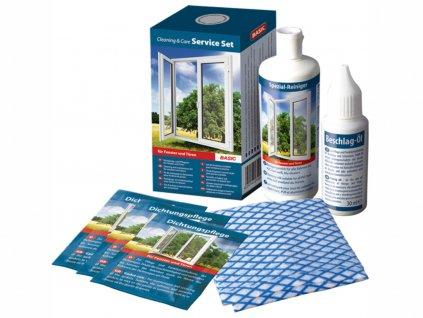 udržovací sada BASIC bílý PVC a elox ALU