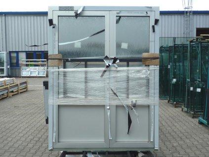 Plastové vchodové dveře - KNIPPING 76 AD, 900x2140 mm, zlatý dub/bílá  + příslušenství zdarma + montážní materiál zdarma