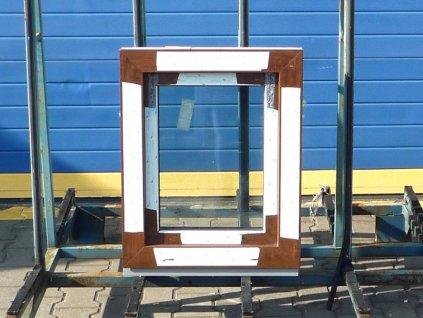 Plastové okno - KNIPPING 76 MD, 1710x1140 mm, OS+O/OS, bílá  + příslušenství zdarma + montážní materiál zdarma