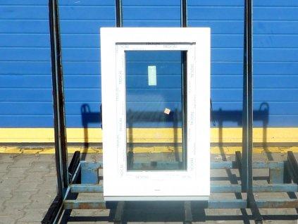Plastové balkonové dveře - KNIPPING 76 AD, 750x2160 mm, O pravé, zlatý dub/bílá  + příslušenství zdarma + montážní materiál zdarma