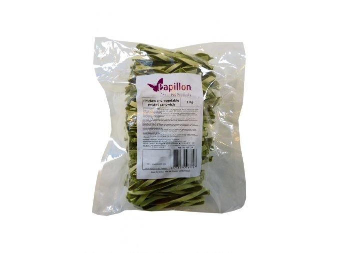 KURECI A ZELENINOVY KROUCENY SANDVIC 1 kg