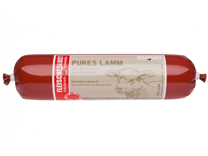 PURE LAMB 400g with brown millet