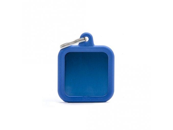BLUE SQUARE ALU BLUE RUBBER