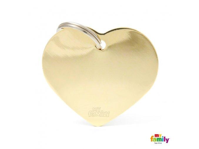 BIG HEART GOLDEN BRASS