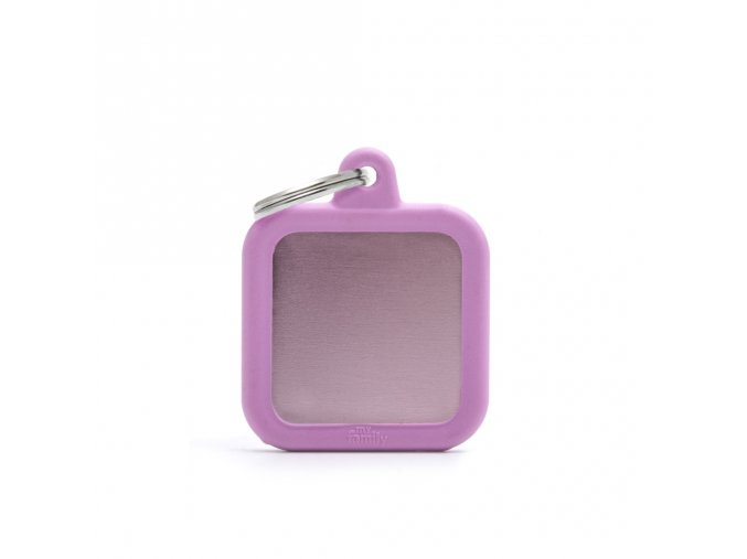 PINK SQUARE ALU PINK RUBBER