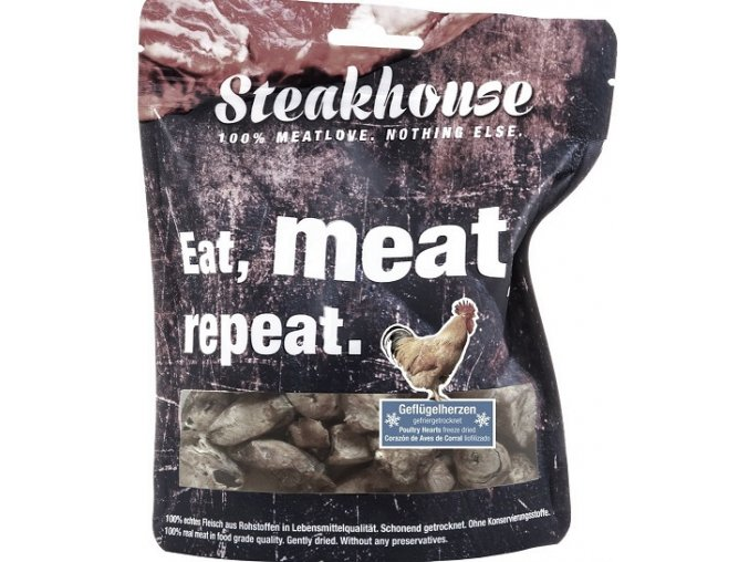 STEAKHOUSE POULTRY HEARTS 40g