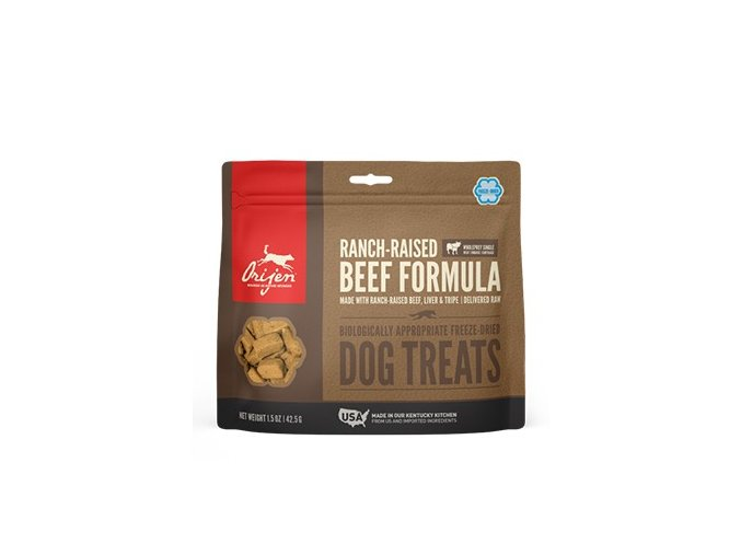 ORIJEN TREATS Ranch-raised Beef 42,5 g