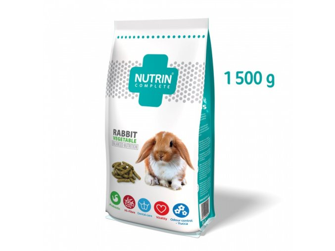 NUTRIN COMPLETE - KRÁLÍK VEGETABLE 1500 g