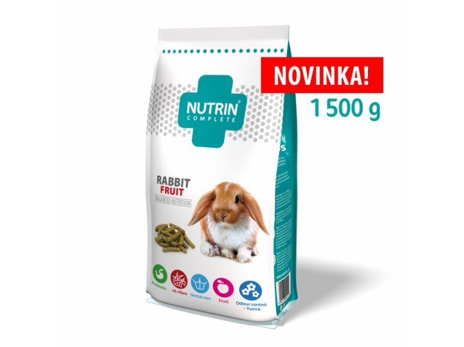 NUTRIN COMPLETE KRALIK FRUIT 1500 g