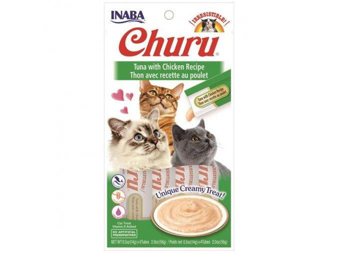 CHURU TUNA WITH CHICKEN 56g 4x14gr