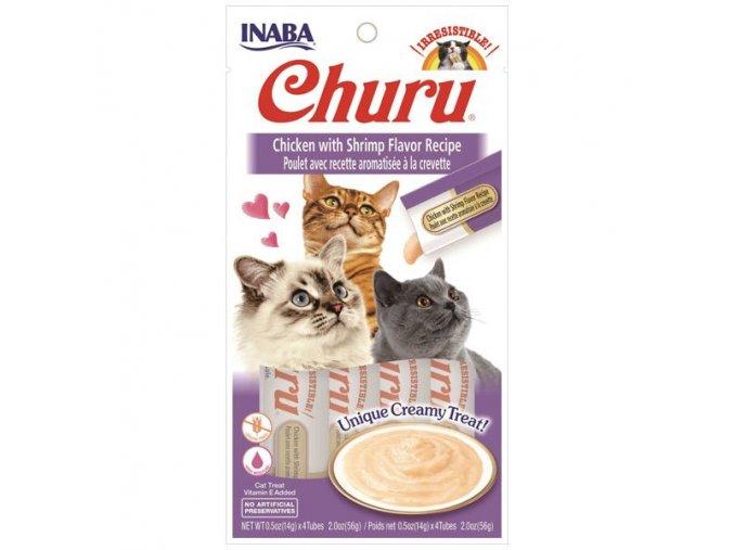 CHURU CHICKEN WITH SHRIMP 56g 4x14g