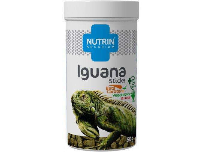 NUTRIN AQUARIUM - IGUANA STICKS 50G (250ML)