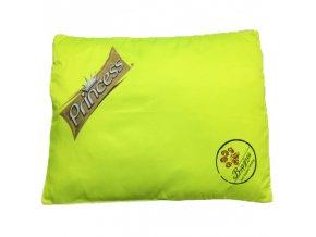 Antiparazitní pelech PRINCE 100x120cm žlutá