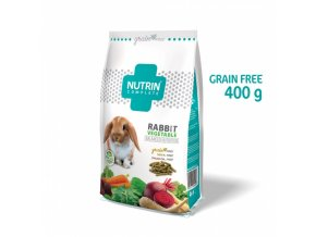 NUTRIN COMPLETE KRÁLÍK GRAIN-FREE VEGETABLE 400 g