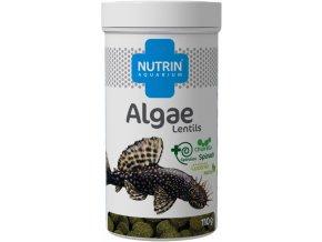 NUTRIN AQUARIUM - ALGAE LENTILS 110G (250ML)