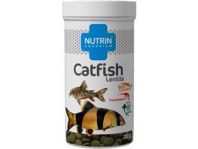 NUTRIN AQUARIUM - CATFISH LENTILS 110 g (250ML)