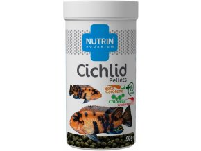 NUTRIN AQUARIUM - CICHLID PELLETS 90G (250ML)